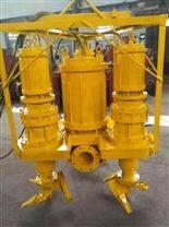 电动搅拌吸沙泵-潜水式耐磨渣浆泵