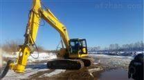 电喷挖机铰刀泥浆泵    耐磨搅拌清淤泵