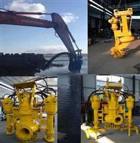 大长杆挖机吸泥泵    耐磨搅拌沙浆泵