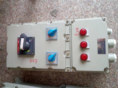 BXC防爆检修电源插座箱4支路