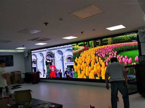 全彩LED显示屏p4舞台16个平方米售价是多少