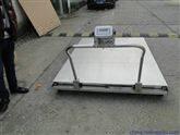 10T移动式电子地磅 上海防腐地磅秤