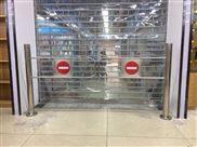超市单向门自动感应门摆闸