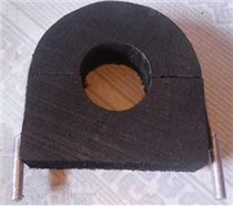 常用中央空调木托U型管卡价格