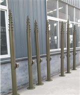 河南防雷工程碳纤维升降避雷针铝镁合升降杆