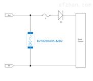 DC电源开路失效功能防护TVS管