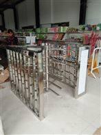 HSM-ZZ超市入口简易闸机,不锈钢人身半高旋转闸