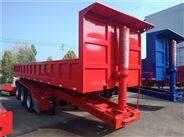 12.5米集裝箱高欄半掛車價格及車廂外形尺寸