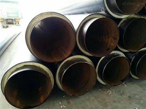 聚氨酯预制直埋冷热水保温管地埋发泡管价格