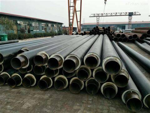 防腐空调管道预制直埋式聚氨酯塑料保温管厂