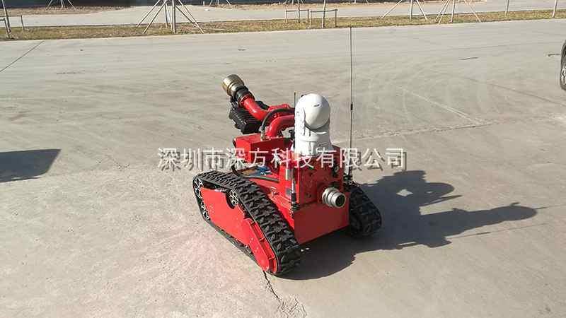 深方科技移动视频图传系统成功应用在消防机器人项目