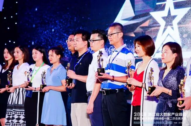 力石科技荣获浙江省大数据准独角兽企业等多个奖项