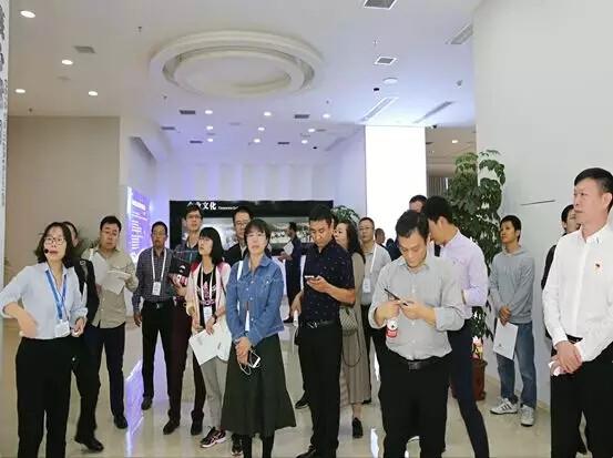 工信部考察团莅临南威软件集团参观指导