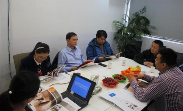 新疆安防协会理事长程兴方一行莅临中国安防展览网