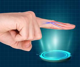 中金银通告诉你 什么是指静脉识别