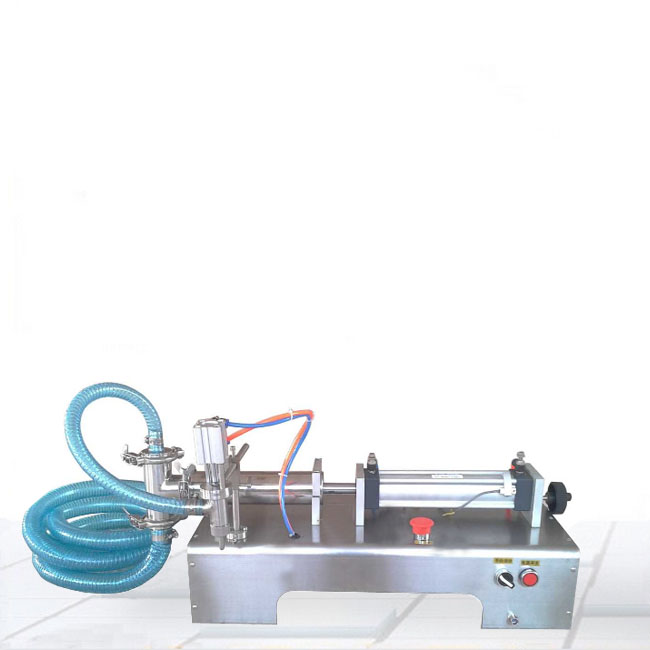 液体卧式灌装机图片