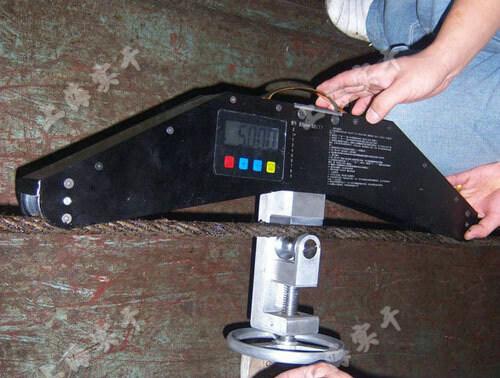 幕墙拉索张力测试仪图片