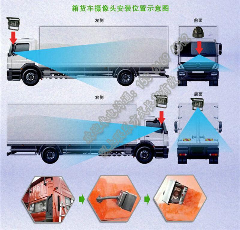 货车动态视频监控 4g车载终端设备_物流货运车动态视频监控