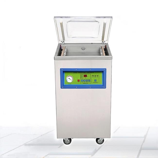 自动400型蔬菜食品单室真空包装机