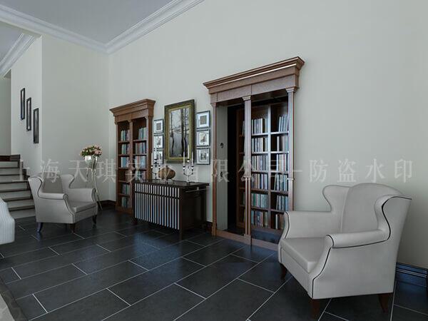 书柜密室门