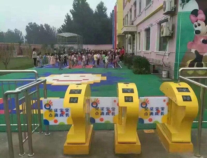 幼儿园进出安全通道闸机校园通道摆闸
