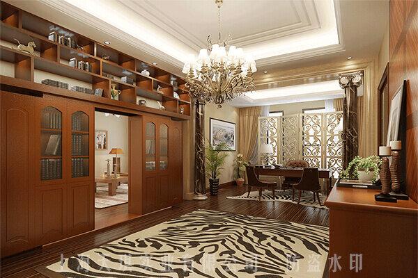 别墅密室门实拍图